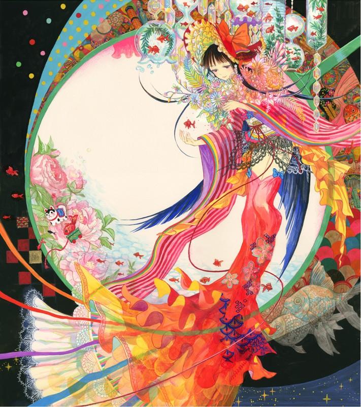 藤ちょこ 桜 Exhibition 2013 出展作品   Participating Arti